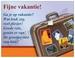 Gedichtkaart YML 1115: Fijne vakantie!