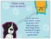 Gedichtkaart YML 1684: Oppas nodig voor de dieren?