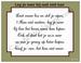 Gedichtkaart, YML 1724: Leg je neer bij wat niet kan