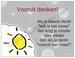Gedichtkaart YML 1744: Vooruit denken!
