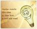 Gedichtkaart YML 1251: Slim idee!